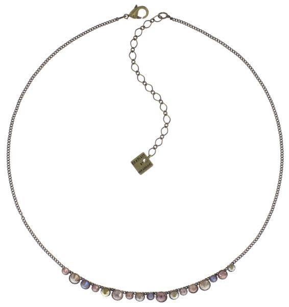 Konplott Water Cascade steinbesetzte Halskette in beige 5450543772875