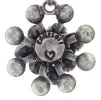 Vorschau: Konplott Magic Fireball Halskette Mini in graphite schwarz 5450543797427