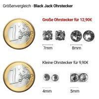 Vorschau: Konplott Black Jack Ohrstecker klassisch rund groß in fuchsia 5450543206189