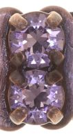 Vorschau: Konplott Rock 'n' Glam Armband in lila light amethyst 5450543776859