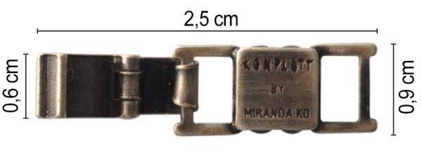 Konplott Armband Verlängerung groß in silber 5450527800464