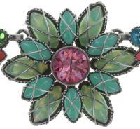 Vorschau: Konplott Psychodahlia Halskette multi Silberfarben 5450543730134