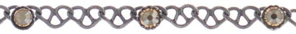 Konplott Festival Anklet Fußkette beige Silberfarben 5450543747392
