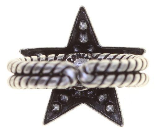 Konplott Dancing Star Ring in weiß Größe M - Widerrufsware, wie neu 5450543774862