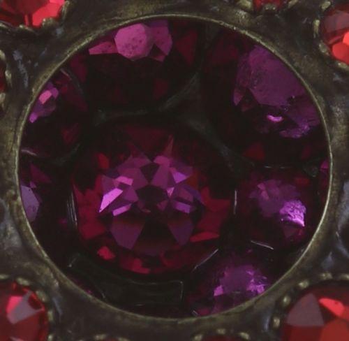 Konplott Inside Out Ohrclip Größe S in scarlet rot 5450543675930