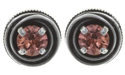 Konplott Cages Ohrstecker in pink Silberfarben 5450543747927