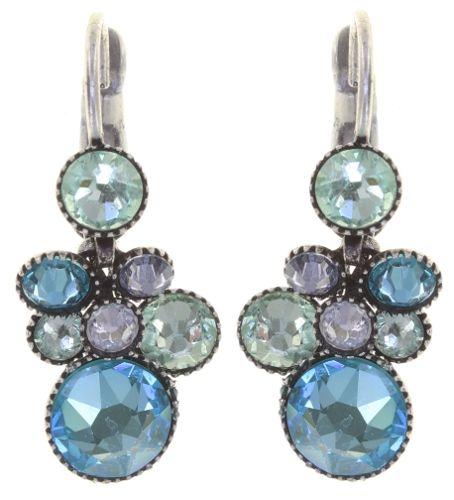 Konplott Water Cascade Ohrhänger in Minty Fresh blau/grün 5450543907291