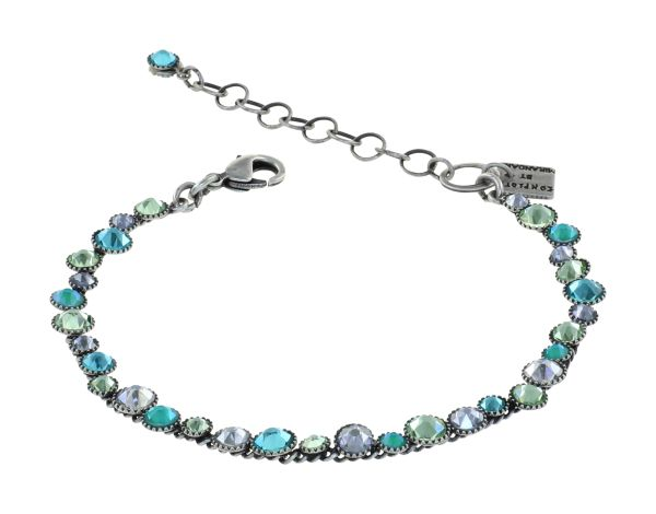 Konplott Water Cascade Armband in Miny Fresh blau/grün 5450543907215