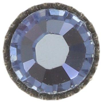 Konplott Black Jack Ohrstecker groß in ligth sapphire, hellblau 5450527797443