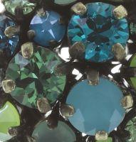 Vorschau: Konplott Ballroom Ohrstecker in blau/grün 5450543725864